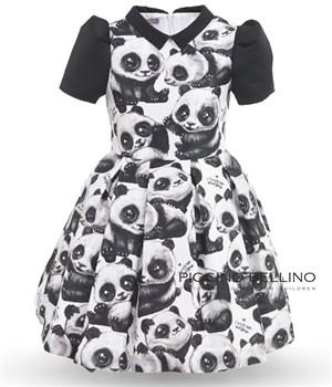 "Платье ""Панда"" - фото 4736"
