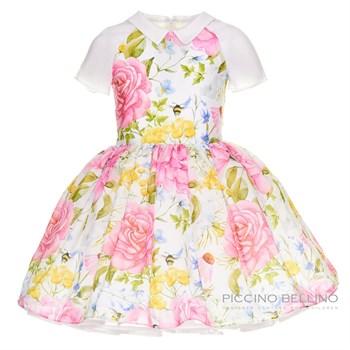 """Платье """"Королевские розы"""" шифон - фото 4892"""