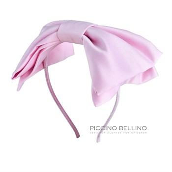 Ободок декоративный розовый - фото 5337