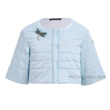 Куртка голубая арт.0625 - фото 5468