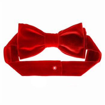 Пояс бархатный красный арт 1026 - фото 5770