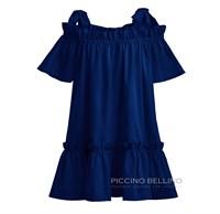 Платье хлопковое жёлтое арт.0399
